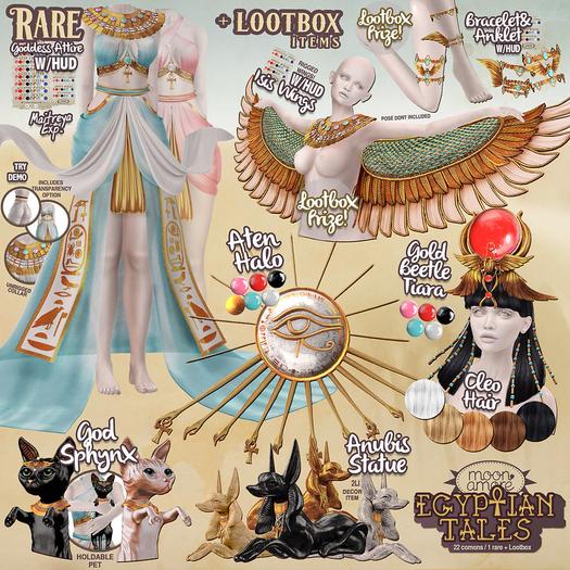 :MoonAmore: EgyptianTales/  FATPACK