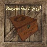 Caja de papiros / Papyrus box [LVL:3] (5) [G&S] 6 184