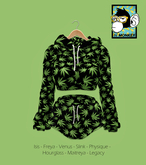 [N*Monkey] Sport Outfit Weed