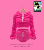 [N*Monkey] Sport Outfit Pink