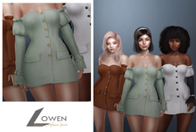 Lowen - Aurora Longsleeve Dress [PASTELS]