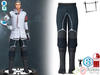 Dae Obj FBX Sci-fi Pants With Boots Slink Male, Belleza Jake, Signature Gianni