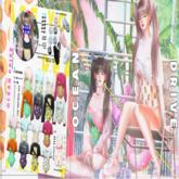 AMITOMO /  Ocean Drive GACHA / Sneakers / MAITREYA / 2 RARE