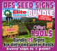 DFS BUNDLE ELITE SEED SIGN (25+1 Textures)