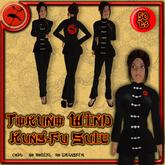 >>Tokuno Wind<< Kung-Fu Suit - Black