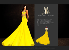 Athena Couture Lillian [Yellow] Wear to Unpack