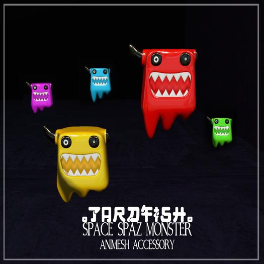 .Tardfish. Space Spaz - Yellow (attach to recieve me)