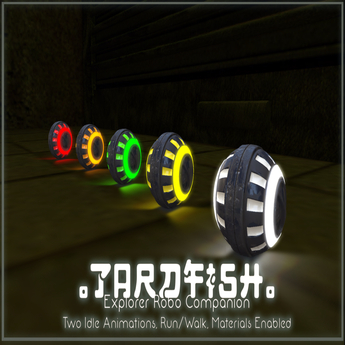 .Tardfish. Explorer Bot Companion - Yellow (wear to recieve)