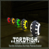 .Tardfish. Explorer Bot Companion - Yellow (wear to recieve)