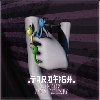 .Tardfish. Bookwerm - Purple (attach me to receive)