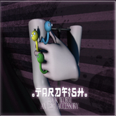.Tardfish. Bookwerm - Purple (attach me to receive)