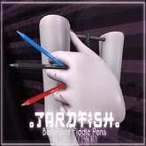 .Tardfish. Ballspoint Fiddle Pen - Black (attach to recieve)