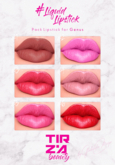 TIRZA BEAUTY #Liquid Lipstick @GENUS