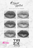 TIRZA BEAUTY #Liquid Lipstick @CATWA DEMO