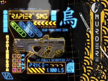 """/MURDER\ """"Rapier"""" Rapid Energy Accelerator"""