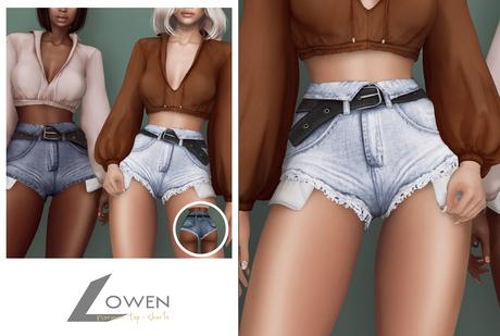 Lowen - Normani Shorts [NEUTRALS]