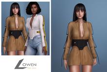 Lowen - Gianni Dress [NEUTRALS]