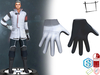 Full Perm Mens Sci-fi Gloves Slink Male, Signature Gianni, Onupup, Ocacin Gamit