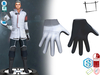 Dae Obj FBX Mens Sci-fi Gloves Slink Male, Belleza Jake, Signature Gianni