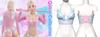 Rebelpill - Quinn Collection Top Baby Blue