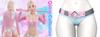 Rebelpill - Quinn Collection Shorts Baby Blue