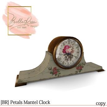 [BR] Petals Mantel Clock