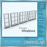 Mesh Windows full perm - ZimberLab Window B1