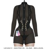 "Elegance Boutique -Dress w/HUD  - Black - "" Estes"" - Legacy / Maitreya /Slink / Belleza"