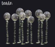 tarte. garden balloons (clear)