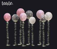 tarte. garden balloons (mixed)