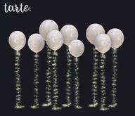 tarte. garden balloons (white)
