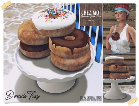 Donuts Tray ♥ CHEZ MOI