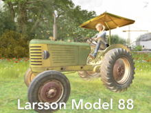 Wonderful Driving Tractor For Fields and Tractor Rides