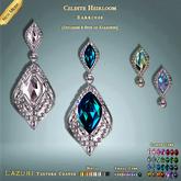 [ Lazuri ] Celeste Heirloom Earrings - MESH
