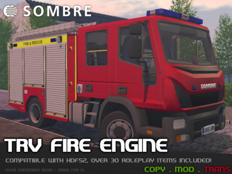 Sombre TRV Fire Engine