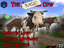 [-Paradise Ranch-] The BASIC Animesh Cow