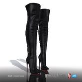 [Gos] Farah Tassel Boots - Nappa - Black
