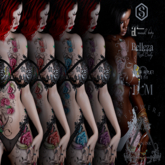 Leven Ink Tattoo - Flowers Fatpack