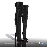 [Gos] Farah Tassel Boots - Suede - Black