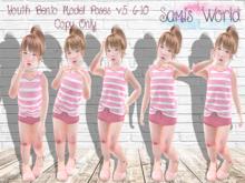 *SW* Youth Bento Model Poses v.5. 6-10 Hud