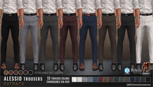 {COLD-ASH} Mens ALESSIO Trousers - FATPACK