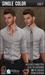 {COLD-ASH} Mens RAPHAEL Shirt (Single-Grey)