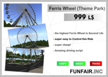 Ferris Wheel Theme Park