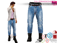 WEEKENDSALE Full Perm Men's Drop Waist Skinny Jeans With Boots For Belleza Jake Signature Gianni Slink Male Gamit Adin