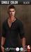 {COLD-ASH} Mens MESH REECE Henley Shirt (BLACK)