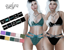 DEMO Eyelure Strappy Bra and Panty