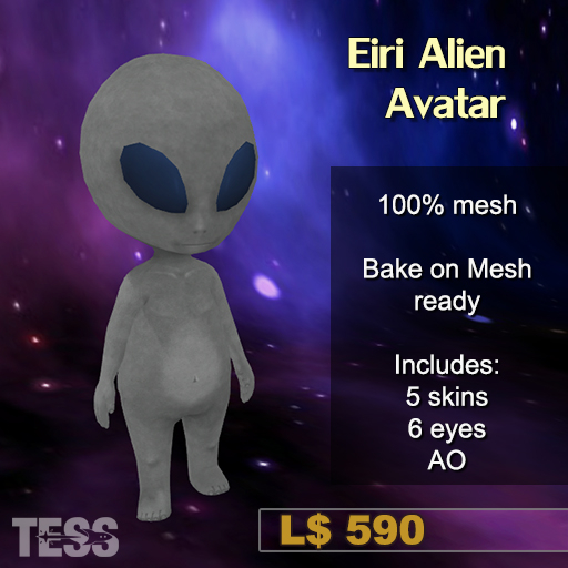 Eiri - Alien Avatar