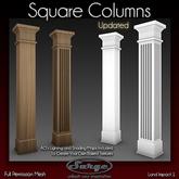 Square Columns - Full Permission