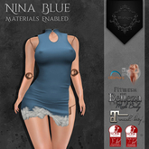 **Mistique** Nina Blue (wear me and click to unpack)