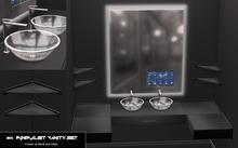SIIX // Minimalist Bathroom Vanity